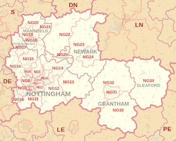 nottinghamshire-ground-rents-for-sale-map-areas-we-cover